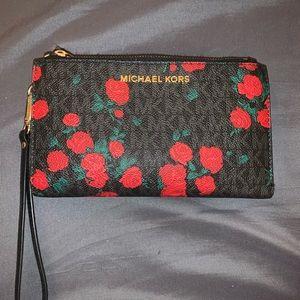 Roses Michael Kors Wallet